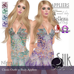 Silk Dreams Nina Poster with Appliers