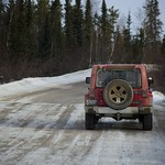 Ice Road Jeeping