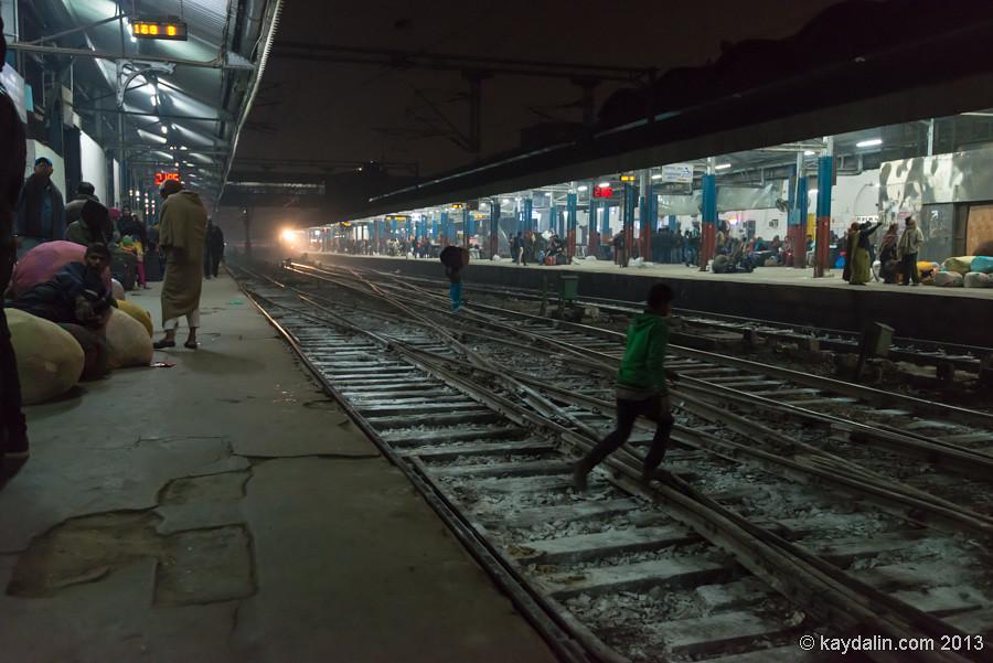 Дели, железнодорожная станция