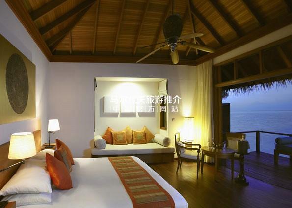 薇莉岛安纳塔拉酒店[Anantara Veli Resort]客房