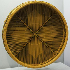Display Tray with Open Weave