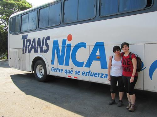 Bus a Managua