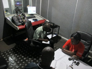 Preparing for the Kit Yamoyo Broadcast