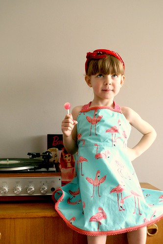 Mini retro meisje