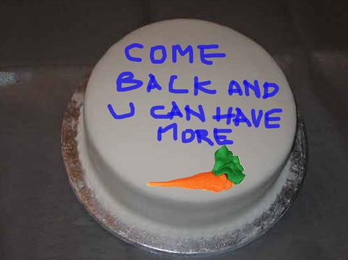 Barganing-Cake