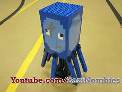 Lego Minecraft Squid