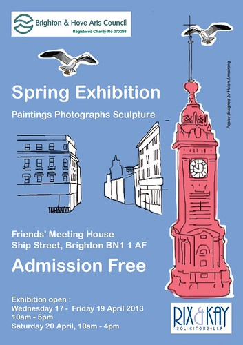 BRIGHTON AND HOVE ARTS COUNCIL SPRING EXHIBITION 2013 by Narolc