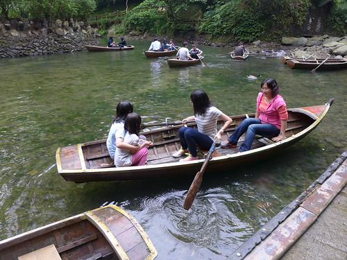 妹妹划船@雲仙樂園湖