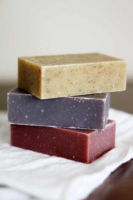 made from earth soaps