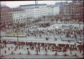 Der iagttages 2 minutters stilhed på Københavns Rådhusplads til minde om de faldne soldater ved Danmarks besættelse