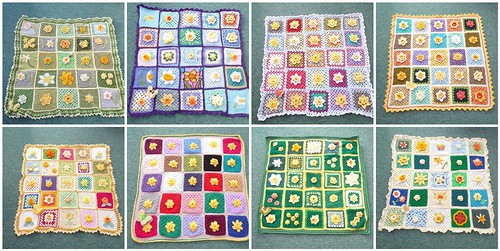 8/9 Marie Curie Cancer Care Challenge. Our Daffodil Blankets. Thank you!
