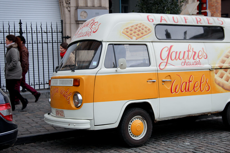 Love Bruxelles - Gaufres food truck