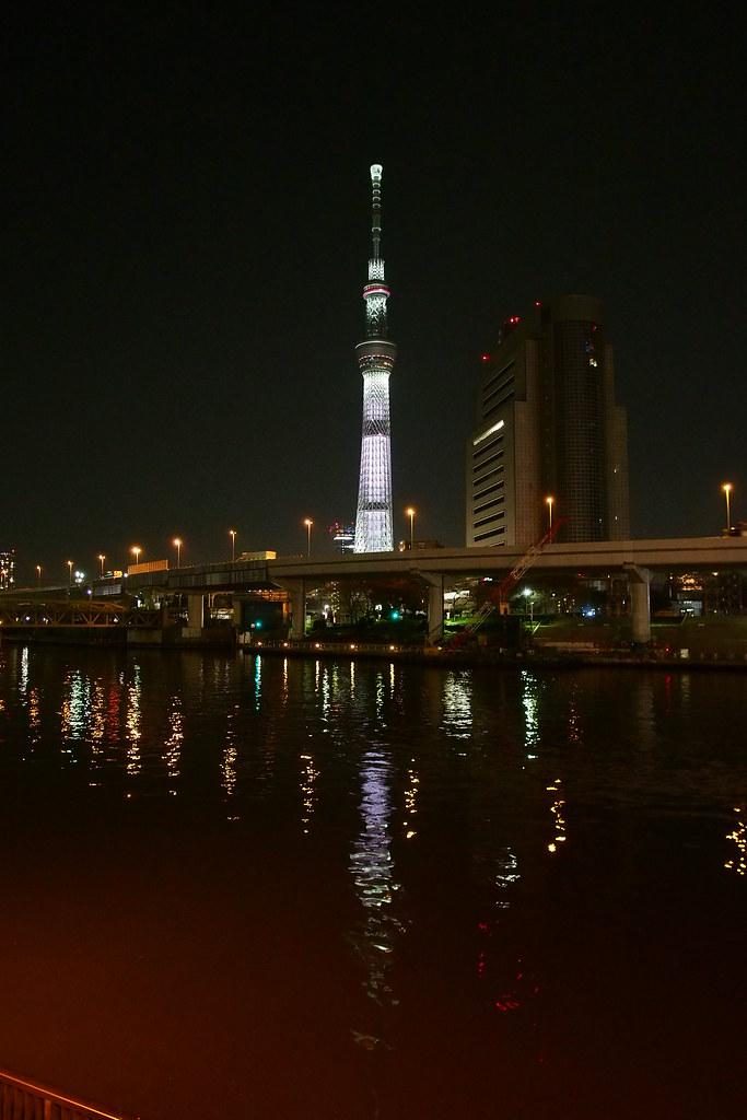 隅田川 天空樹