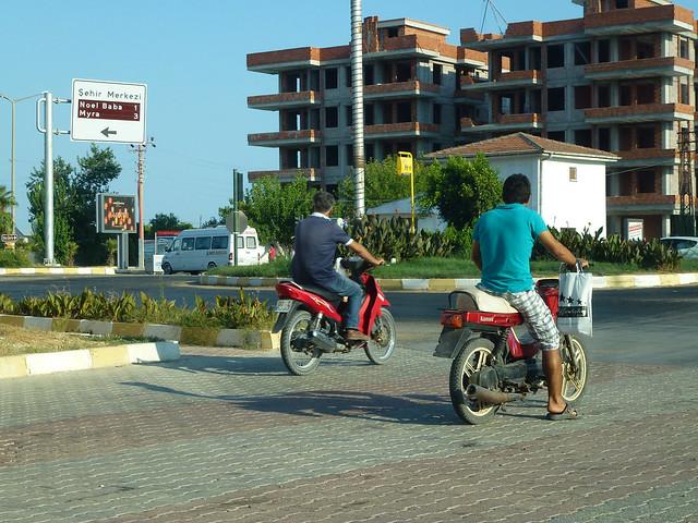 Turquie - jour 10 - Demre (Myra) - 130 - Demre centre-ville