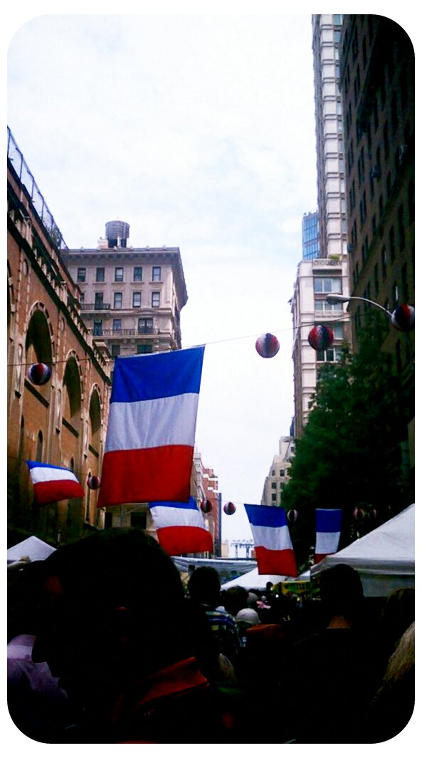 Bastille Day, NYC 2012