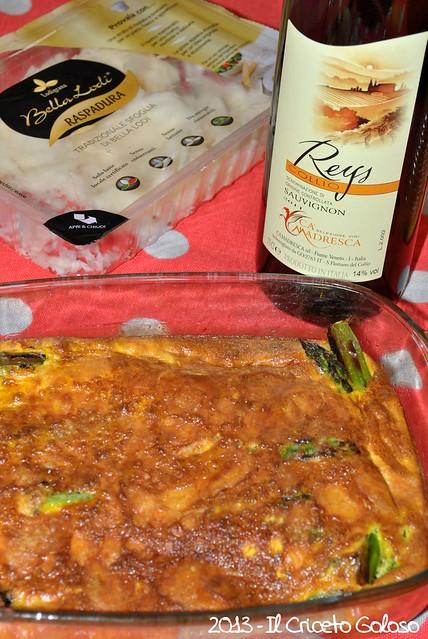 Sformato di uova e asparagi alla Raspadura (2)