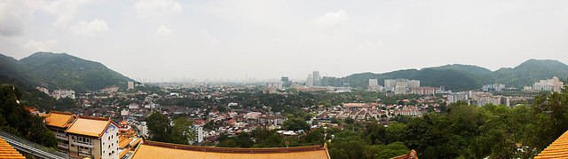 The view from Kek Lok Si