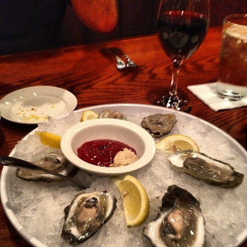 Finally got some oysters!