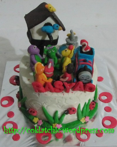 Cake Barney dan Thomas