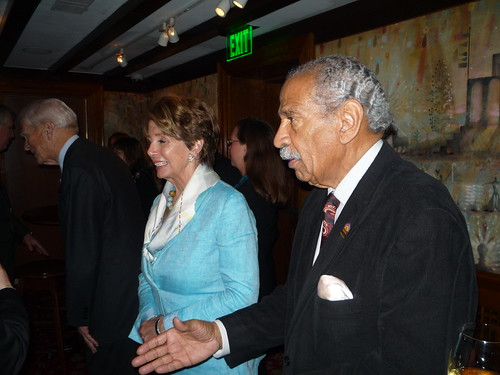 Rep. Nancy Pelosi and Rep. John Conyers