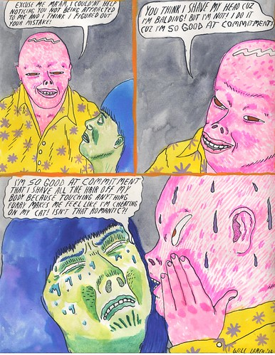 Bald Commitment (comic for vice UK) by willlaren