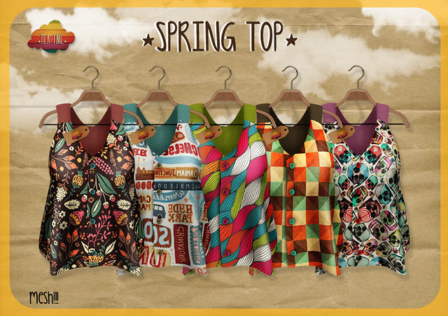 SPRING TOP *Tea Time* NEW!!!