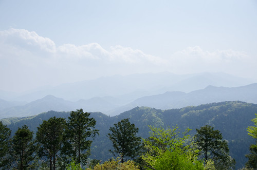 Takao view from summit