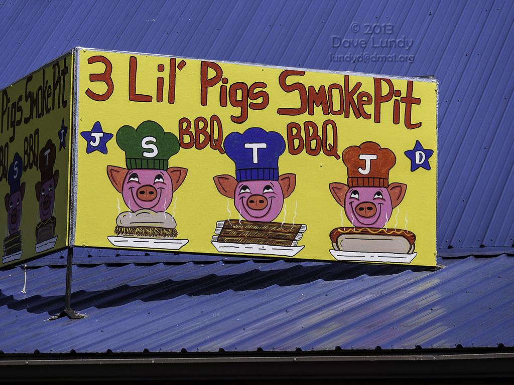 Lil Pigs Bbq Food Truck