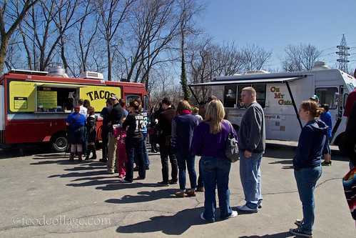 Pgh Taco Truck at North Hills Food Truck Roundup March 2013