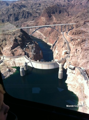 over Hoover Dam