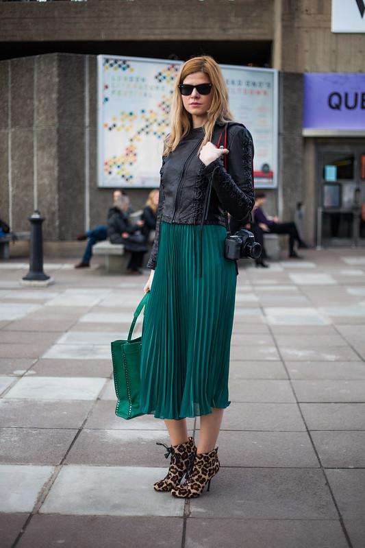 Street Style - Eva Glamazon, Vogue Festival