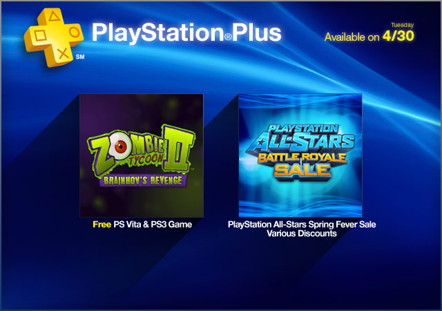 PlayStation Plus Update 4-30-2013
