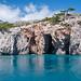 Underwater Grottos near Cape Karinaki