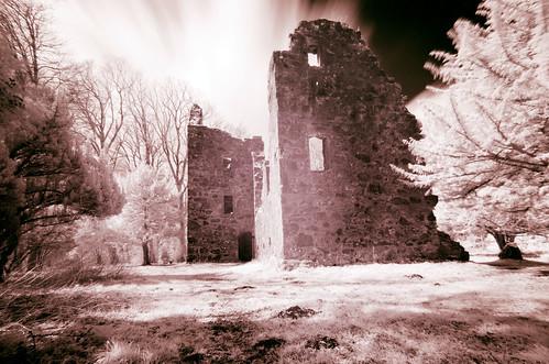 Standing ruins