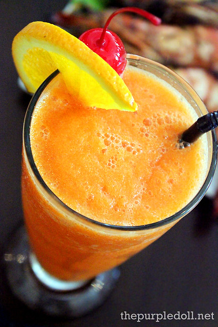 Drink of the Day Fresh Carrot & Orange Juice