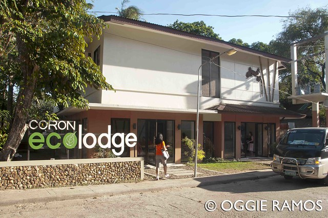 Coron - Ecolodge Facade