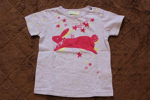 2013春夏_ミリカンパニー_ウサギのTシャツ