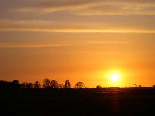 sunset sky orange sun holland landscape zonsondergang nikon thenetherlands lucht zon brabant oranje landschap