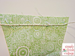 Quick & Easy Bunting ... Assembly Option 2