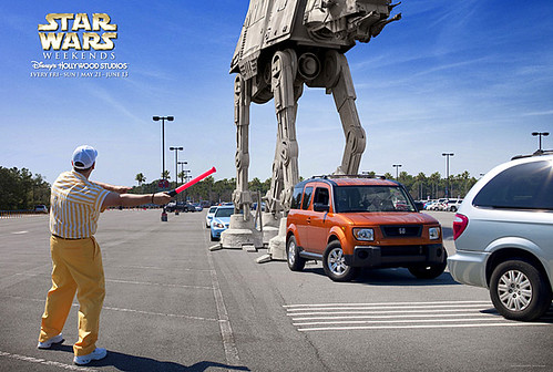 Star Wars Weekend 2013:  AT-AT