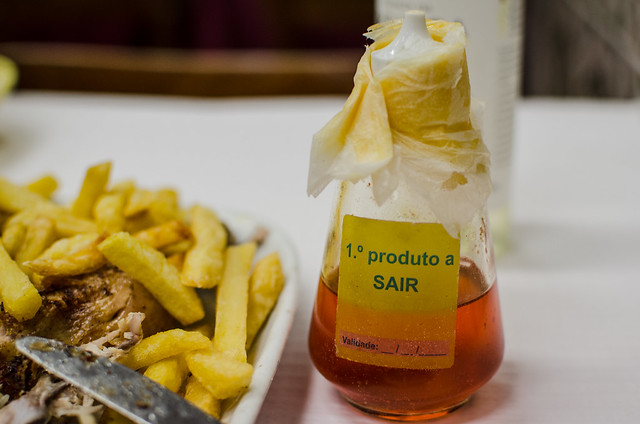 Make sure to request some Piri Piri sauce to accompany your chicken at Casa da India in Lisbon.