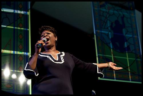 Irma Thomas at Jazz Fest 2013. by Ryan Hodgson-Rigsbee (www.rhrphoto.com)
