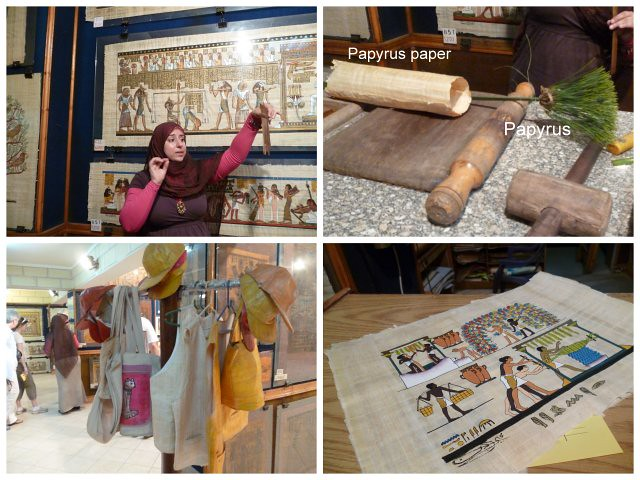 Papyrus shop