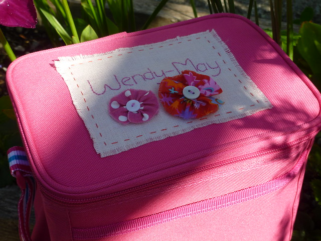Personalised Pink Luchbox