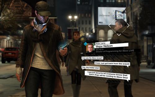 Watch Dogs coming to Xbox One
