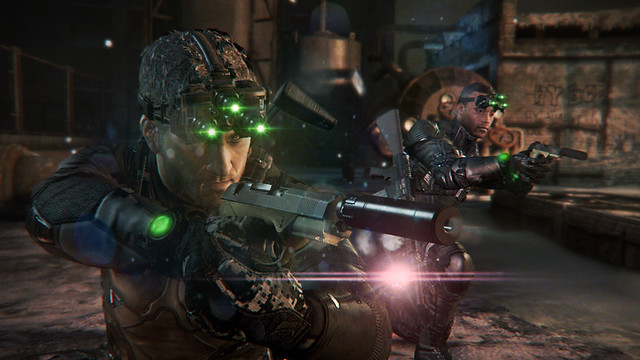 Splinter Cell Blacklist on PS3