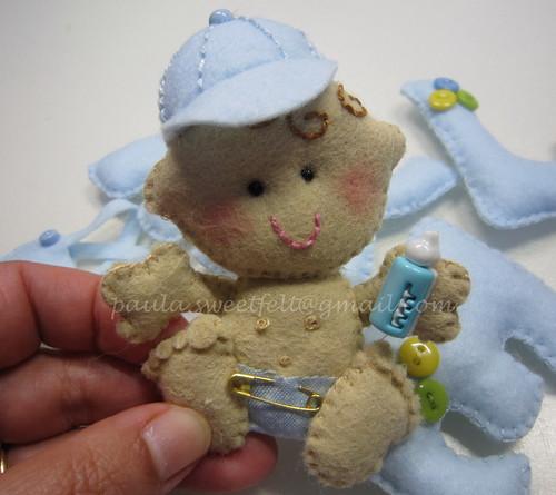 ♥♥♥ Baby boy ... by sweetfelt \ ideias em feltro