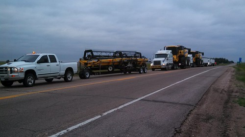 Convoy early in the morning