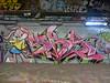 Sky graffiti, Leake Street