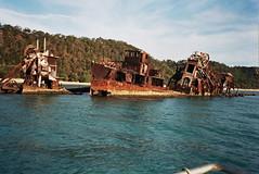 raft(0.0), vehicle(1.0), ship(1.0), sea(1.0), bay(1.0), watercraft(1.0), shipwreck(1.0), coast(1.0), boat(1.0), waterway(1.0),